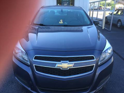 2013 Chevrolet Malibu for sale at SHOW ME MOTORS in Cape Girardeau MO