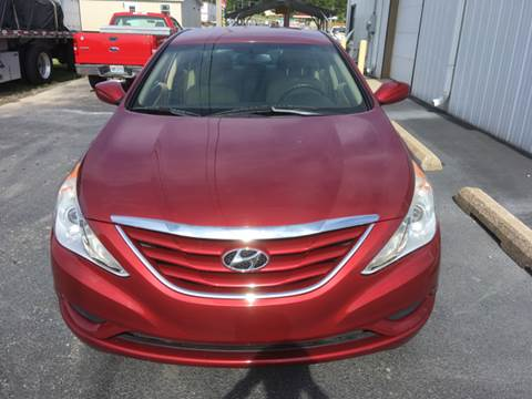 2012 Hyundai Sonata for sale at SHOW ME MOTORS in Cape Girardeau MO