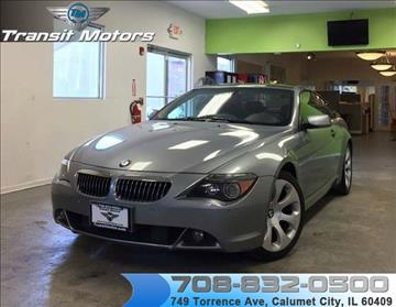 2004 BMW 6 Series for sale at Transit Motors in Calumet City IL