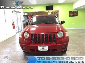 2007 Jeep Compass for sale at Transit Motors in Calumet City IL