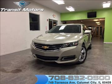 2014 Chevrolet Impala for sale at Transit Motors in Calumet City IL