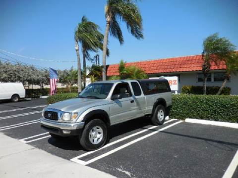 2001 Toyota Tacoma for sale at Uzdcarz Inc. in Pompano Beach FL