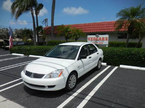 2006 Mitsubishi Lancer for sale at Uzdcarz Inc. in Pompano Beach FL