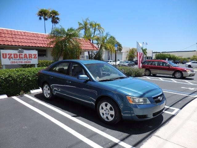 2007 Hyundai Sonata GLS 4dr Sedan - Pompano Beach FL