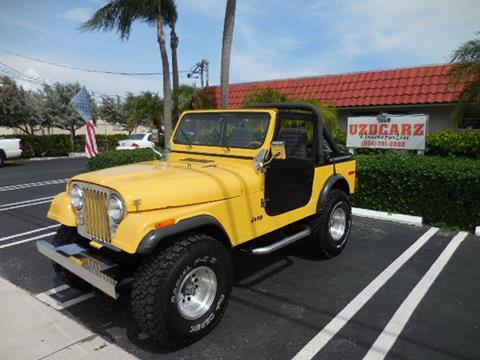 1979 Jeep CJ-7 for sale in Pompano Beach, FL