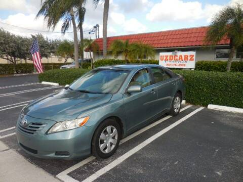 2009 Toyota Camry LE for sale at Uzdcarz Inc. in Pompano Beach FL