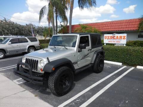 2007 Jeep Wrangler X for sale at Uzdcarz Inc. in Pompano Beach FL