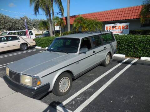 1992 Volvo 240 for sale at Uzdcarz Inc. in Pompano Beach FL