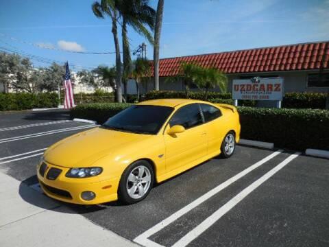 2004 Pontiac GTO for sale at Uzdcarz Inc. in Pompano Beach FL