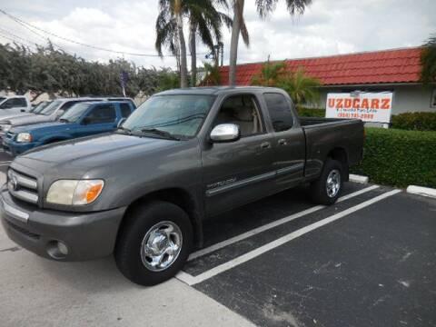 2006 Toyota Tundra SR5 for sale at Uzdcarz Inc. in Pompano Beach FL