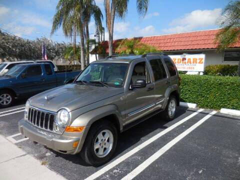 2005 Jeep Liberty Limited for sale at Uzdcarz Inc. in Pompano Beach FL