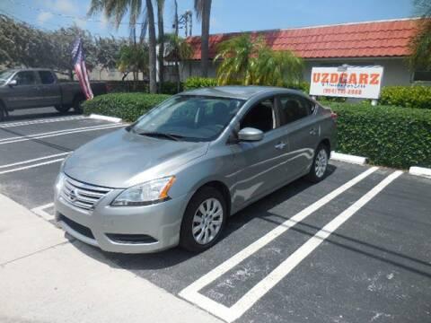2014 Nissan Sentra S for sale at Uzdcarz Inc. in Pompano Beach FL