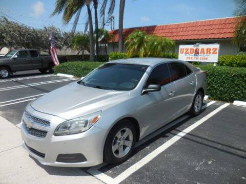 2013 Chevrolet Malibu LS for sale at Uzdcarz Inc. in Pompano Beach FL