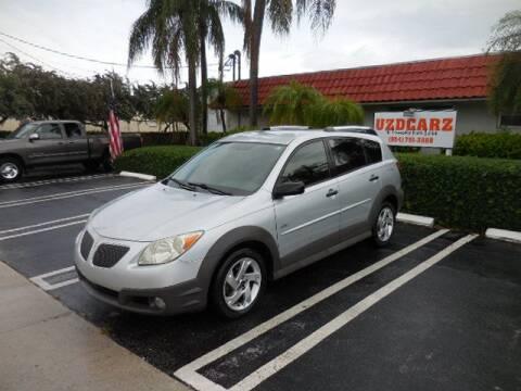 2005 Pontiac Vibe for sale at Uzdcarz Inc. in Pompano Beach FL