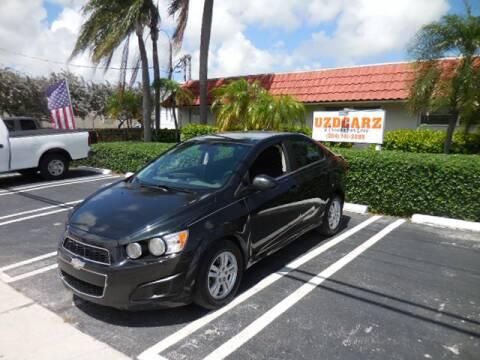 2013 Chevrolet Sonic LT Auto for sale at Uzdcarz Inc. in Pompano Beach FL