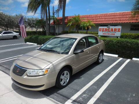 2006 Saturn Ion for sale at Uzdcarz Inc. in Pompano Beach FL