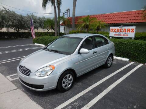 2007 Hyundai Accent for sale at Uzdcarz Inc. in Pompano Beach FL