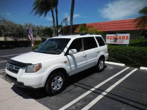 2008 Honda Pilot for sale at Uzdcarz Inc. in Pompano Beach FL