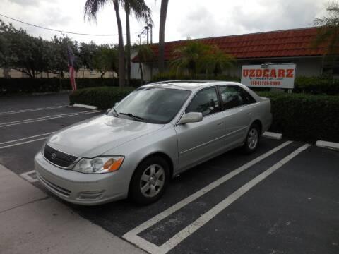 2002 Toyota Avalon for sale at Uzdcarz Inc. in Pompano Beach FL