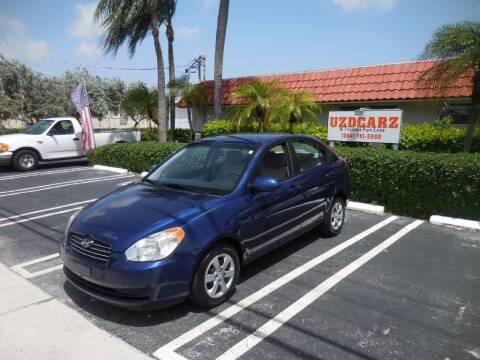 2008 Hyundai Accent for sale at Uzdcarz Inc. in Pompano Beach FL