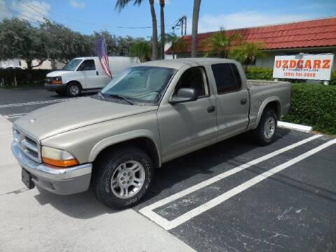 2003 Dodge Dakota for sale at Uzdcarz Inc. in Pompano Beach FL