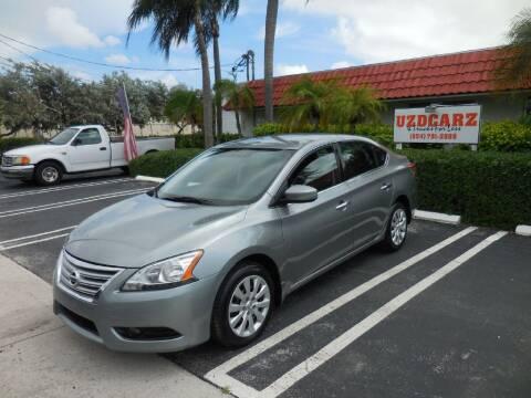 2013 Nissan Sentra for sale at Uzdcarz Inc. in Pompano Beach FL