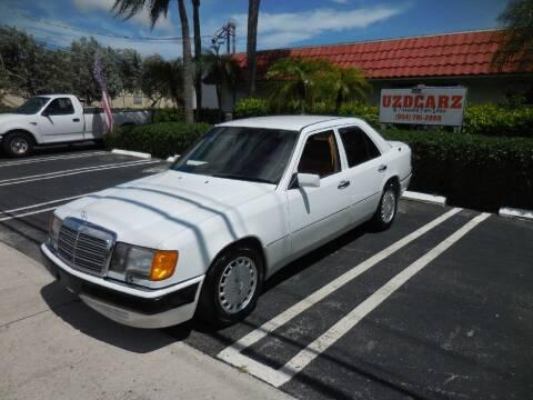 1990 Mercedes-Benz 300-Class for sale at Uzdcarz Inc. in Pompano Beach FL