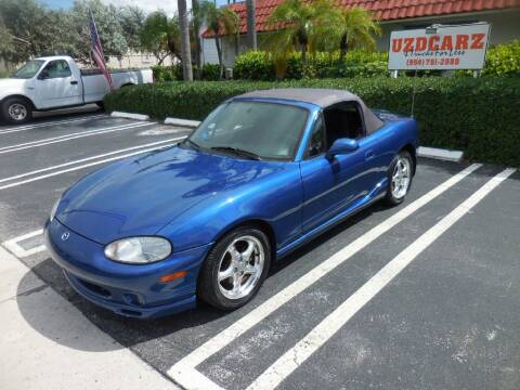 1999 Mazda MX-5 Miata for sale at Uzdcarz Inc. in Pompano Beach FL