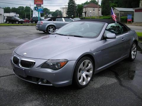 2005 BMW 6 Series For Sale In Haverhill MA
