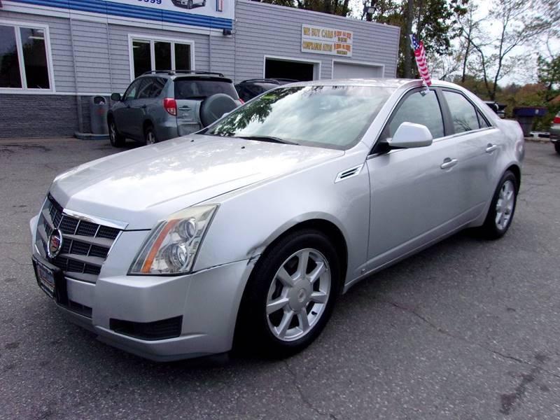 2009 Cadillac Cts Awd 3 6l V6 4dr Sedan W 1sa In Haverhill Ma Top