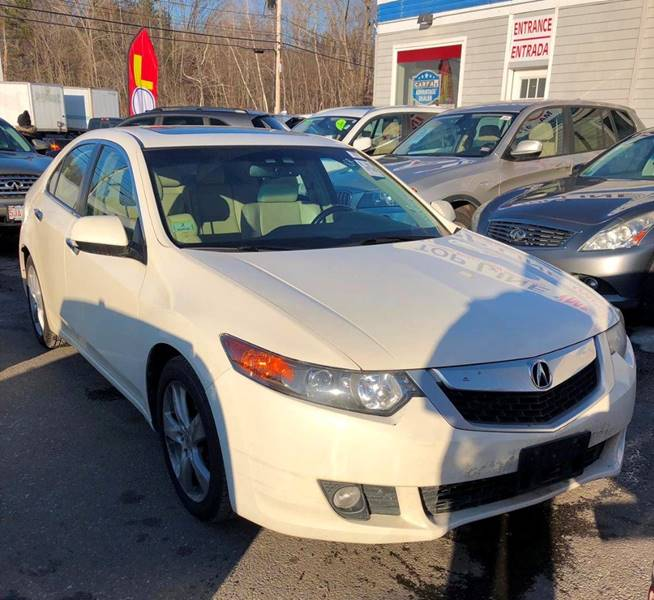 2010 Acura Tsx 4dr Sedan 5A W/Technology Package In