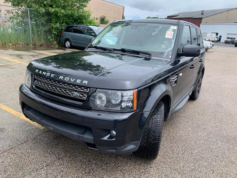 2012 Land Rover Range Rover Sport for sale in Methuen, MA