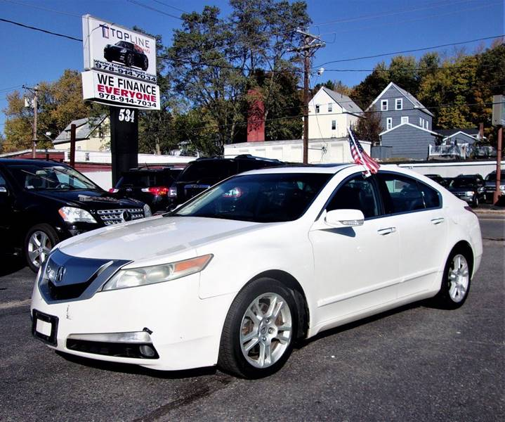 2010 Acura Tl 4dr Sedan W/Technology Package In Haverhill