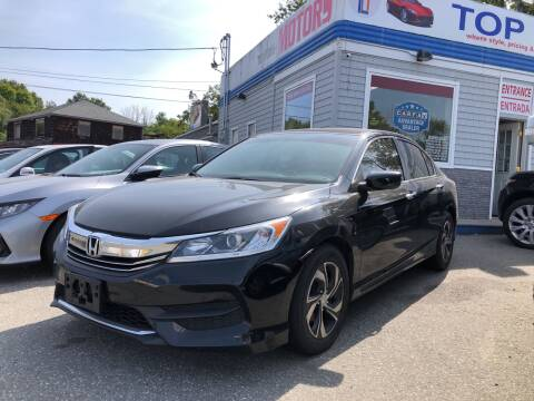 2017 Honda Accord for sale at Top Line Import of Methuen in Methuen MA