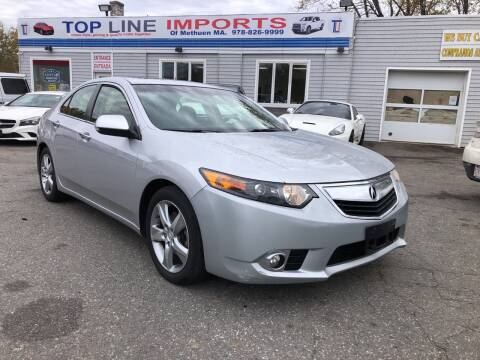 2013 Acura TSX for sale at Top Line Import of Methuen in Methuen MA