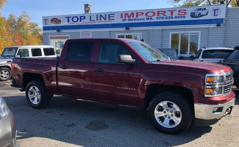 2014 Chevrolet Silverado 1500 for sale at Top Line Import of Methuen in Methuen MA