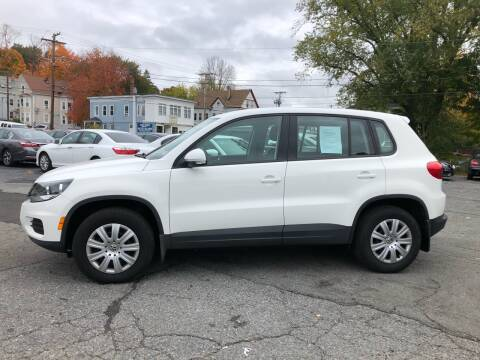 2013 Volkswagen Tiguan for sale at Top Line Import in Haverhill MA