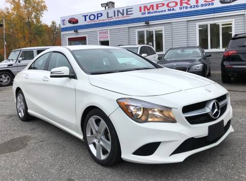 2016 Mercedes-Benz CLA for sale at Top Line Import of Methuen in Methuen MA