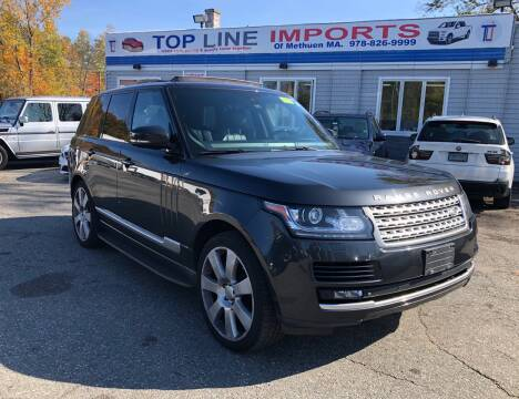 2015 Land Rover Range Rover for sale at Top Line Import of Methuen in Methuen MA