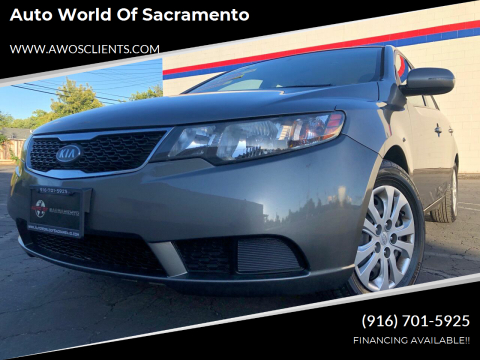 2012 Kia Forte for sale at Auto World of Sacramento Stockton Blvd in Sacramento CA