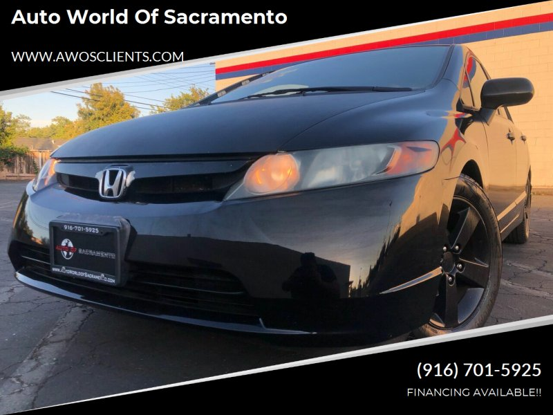 2008 Honda Civic for sale at Auto World of Sacramento Stockton Blvd in Sacramento CA