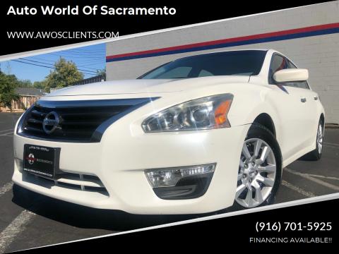 2014 Nissan Altima for sale at Auto World of Sacramento Stockton Blvd in Sacramento CA