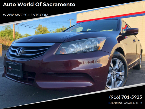 2011 Honda Accord for sale at Auto World of Sacramento Stockton Blvd in Sacramento CA