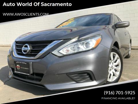 2016 Nissan Altima for sale at Auto World of Sacramento Stockton Blvd in Sacramento CA