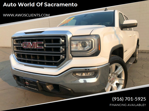 2016 GMC Sierra 1500 for sale at Auto World of Sacramento Stockton Blvd in Sacramento CA