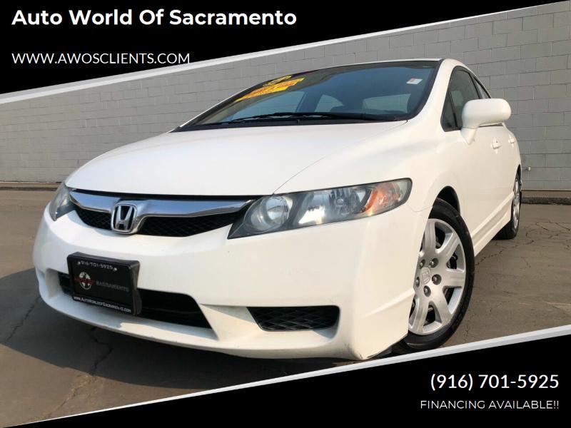 2010 Honda Civic for sale at Auto World of Sacramento Stockton Blvd in Sacramento CA