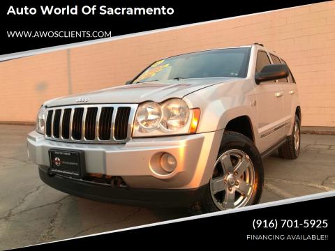 2005 Jeep Grand Cherokee for sale at Auto World of Sacramento Stockton Blvd in Sacramento CA
