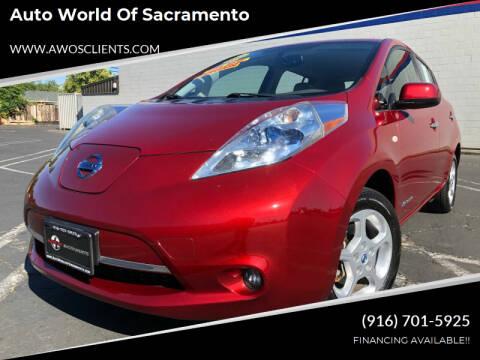 2011 Nissan LEAF for sale at Auto World of Sacramento Stockton Blvd in Sacramento CA