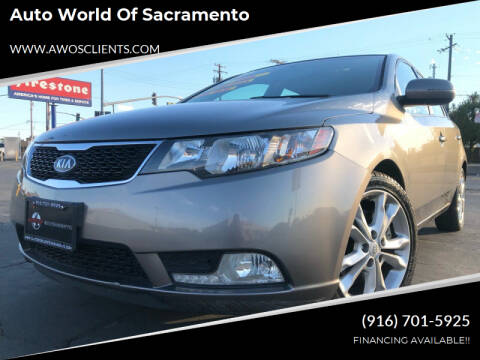 2013 Kia Forte5 for sale at Auto World of Sacramento Stockton Blvd in Sacramento CA