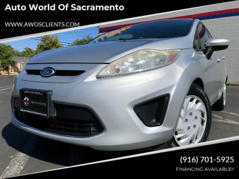 2011 Ford Fiesta for sale at Auto World of Sacramento Stockton Blvd in Sacramento CA
